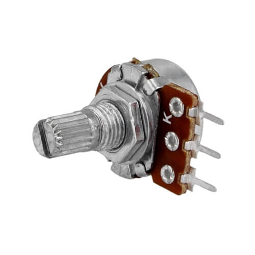 RE.POT.10KLOG - 10K 16mm Log Potentiometer