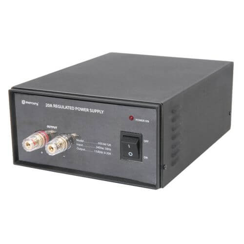 650.661UK - 20A, 13.8Vdc Switch-Mode Bench Top Power Supply