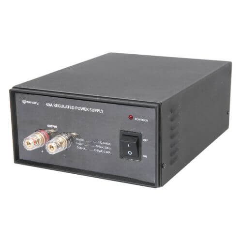 650.664UK - 40A, 13.8Vdc Switch-Mode Bench Top Power Supply