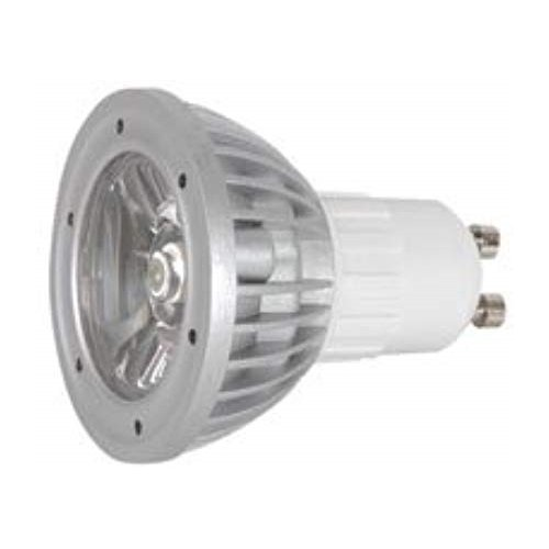 1x LED GU10 Mains Lamp 230Vac - Cool White, 1W