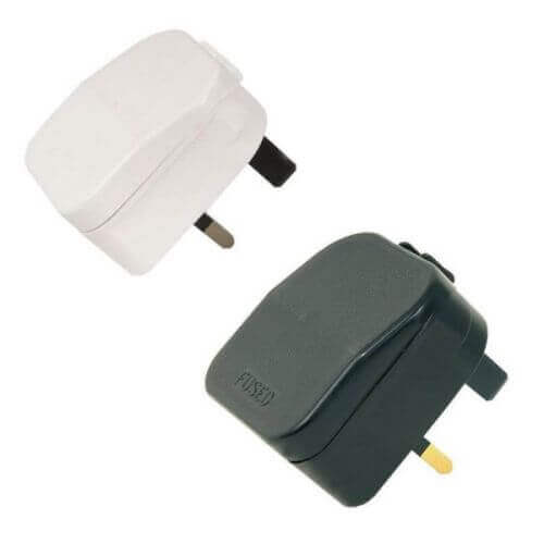429.821UK, 429.822UK - 2-pin CEE7 Euro Plug to UK Converter Plug