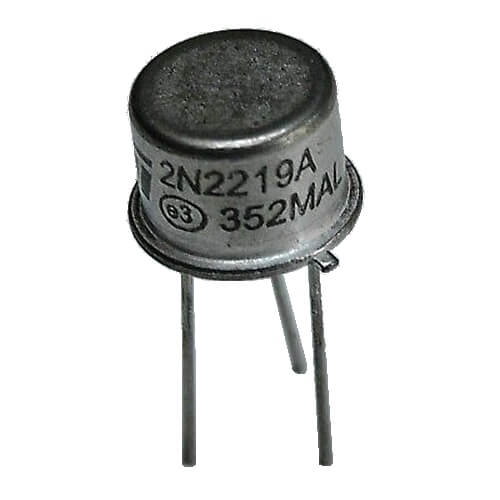 2N2219A - ST NPN Transistor (TO-39 Case)