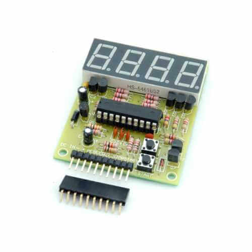 4 Digit Programmable LED Countdown Timer (10,000 Seconds)