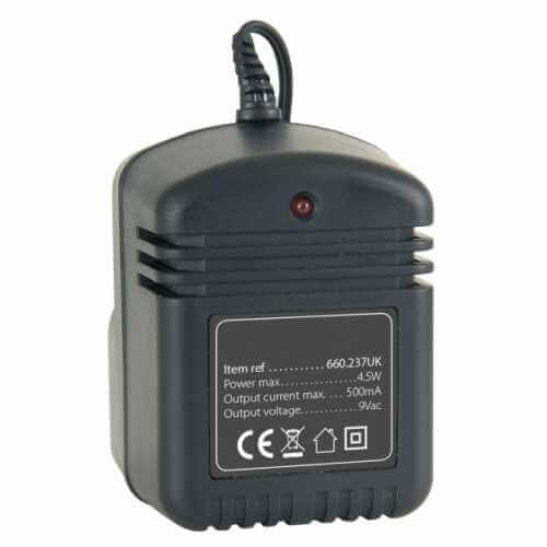 12V AC Power Supply, 500ma (UK 230Vac)