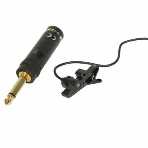 Tie Clip Microphone Deluxe