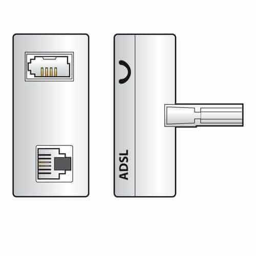TL64 - ADSL Splitter/microfilter