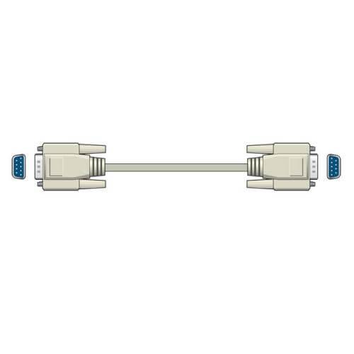 9-Pin D F-F Serial Port Computer Lead