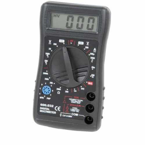 600.032UK - Compact Digital Multitester (19 Ranges)