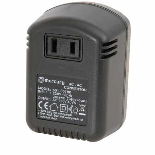 651.001UK - Stepdown Voltage Converter 240V > 120Vac, 45W