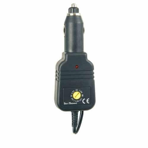 Universal Car Adaptor 1.5 - 12Vdc, 800mA