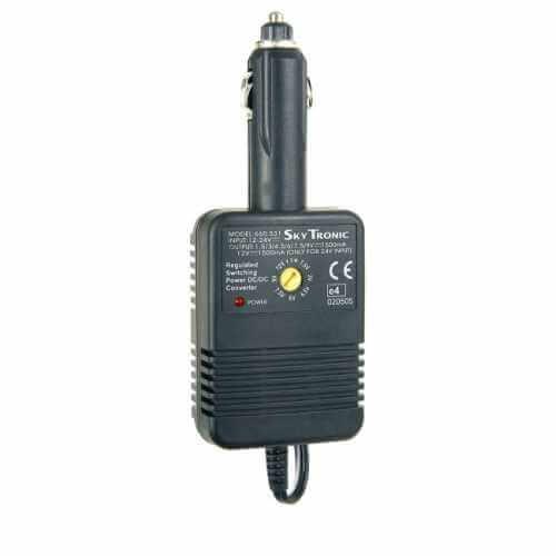 Universal 12/24Vdc Car Adaptor