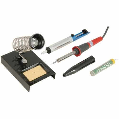 749.939UK - Soldering Set for the Electronics Hobbyist (230Vac UK Version)