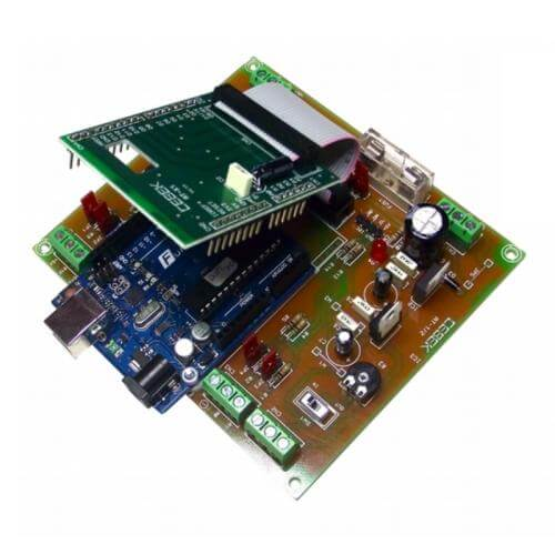 Cebek AT-01 - Arduino Uno Expansion Board with 2x NPN Outputs