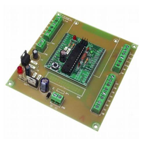 Cebek AT-08 - ATMega328 Screw Terminal Breakout Board