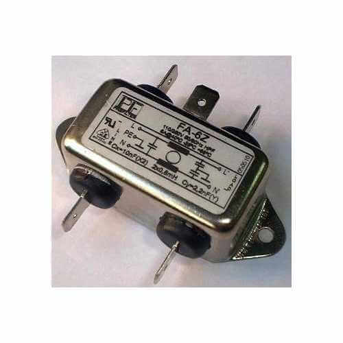 C8202 (C-8202) - 230Vac 6A Single Phase EMI Mains Filter