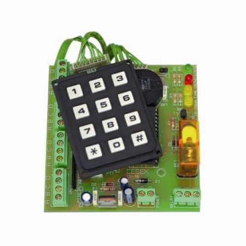 Control Keyboard Module with 4-Digit BCD and Relay Output
