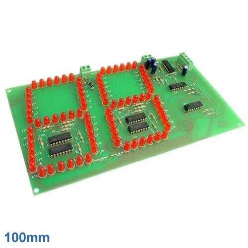 Cebek CD-20 (CCD020) - 2-Digit Up/Down Counter Module (100mm Digits)
