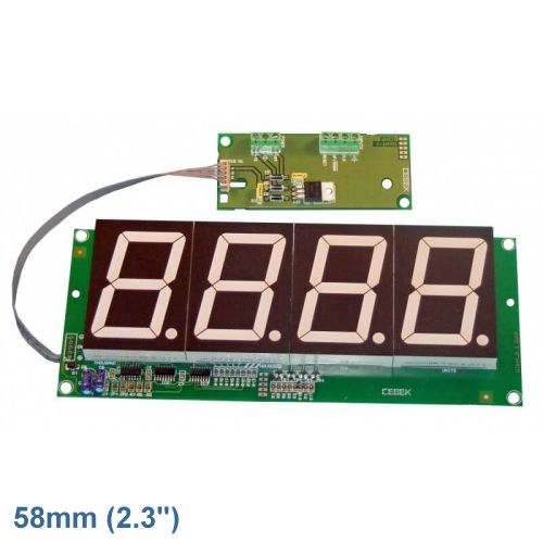 4-Digit Up/Down Counter Module (58mm Digits)