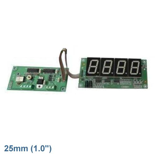 Cebek CD-30.1 (CCD030.1) - 4-Digit Stopwatch Chronometer Module (25mm Digits)