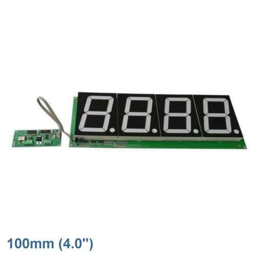 4-Digit Stopwatch Chronometer Module (100mm Digits)