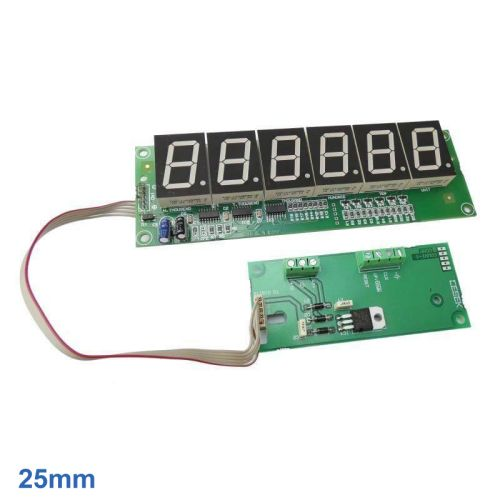 Cebek CD-4.1 (CCD004.1) - 6-Digit Up/Down Counter Module (25mm Digits)