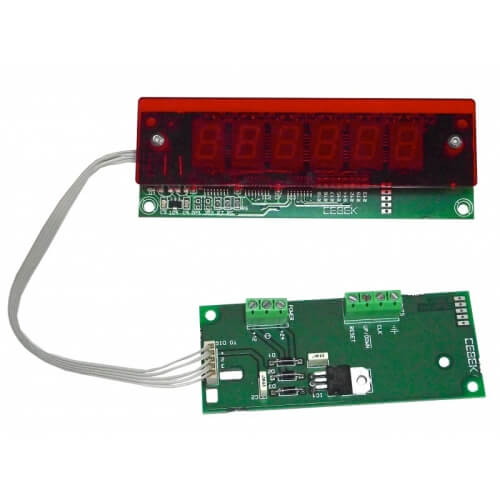 Cebek CD-4 (CCD004) - 6-Digit Up/Down Counter Module (13mm Digits)
