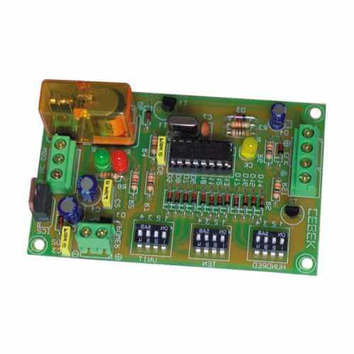Cebek CD-46 (CCD046) - 1-999 UP Counter Module with Preset and Relay