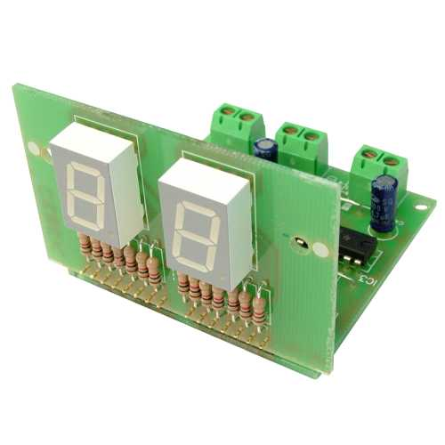 2-Digit Standard UP Counter Module (13mm Digits)