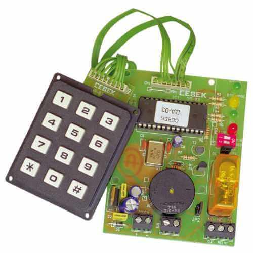 Keypad Access Control Module