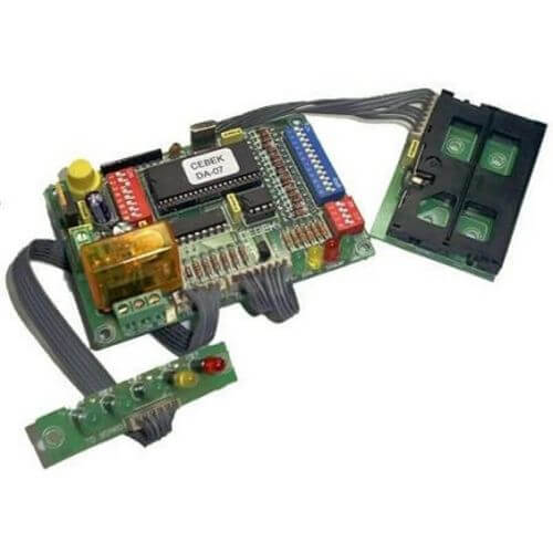 Cebek DA-07 (CDA07) - Chip-Card Relay Timer/Counter Module