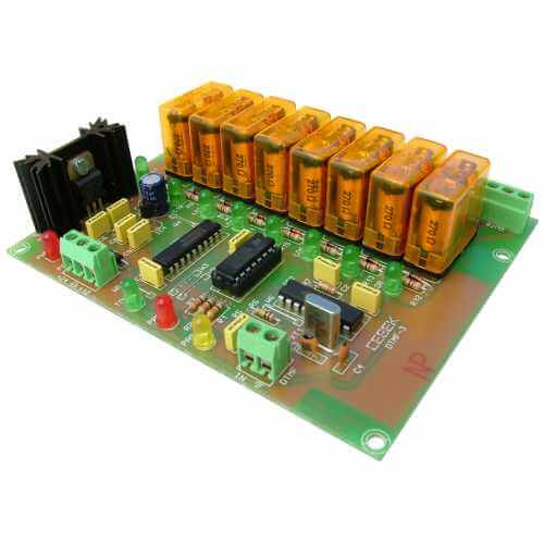 Cebek DTMF-3 (CDTMF3) - 8-Channel DTMF Receiver Relay Module