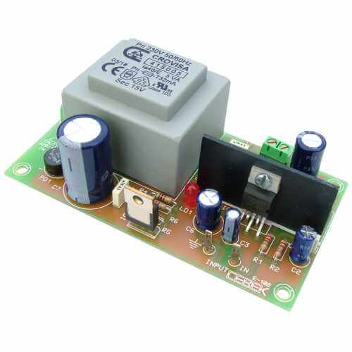 5W RMS 230Vac Mains Mono Audio Power Amplifier Module