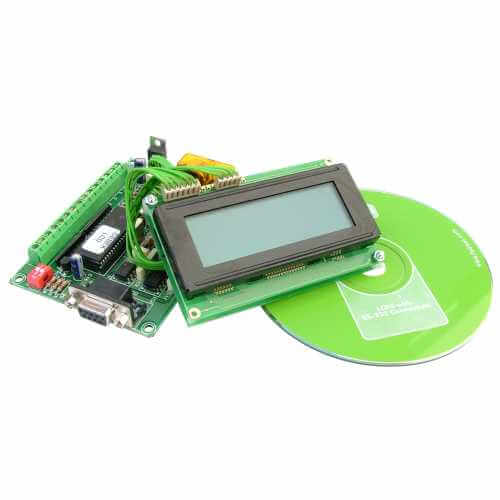 50 Message Programmable LCD Display (20x4 Illuminated)