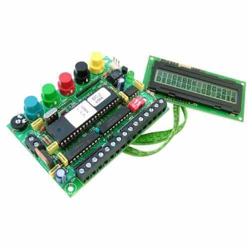 15 Message Programmable LCD Display (16x2 Non-Illuminated)