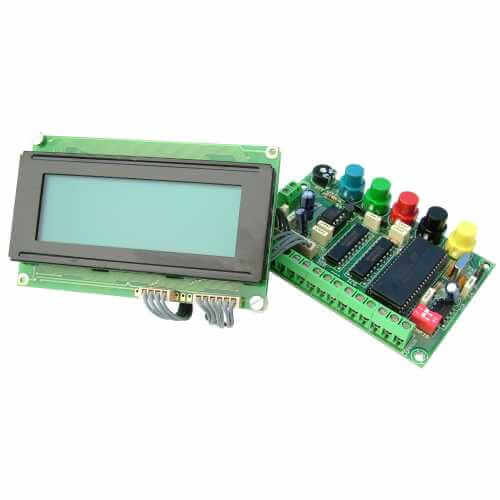 15 Message Programmable LCD Display (20x4 Illuminated)