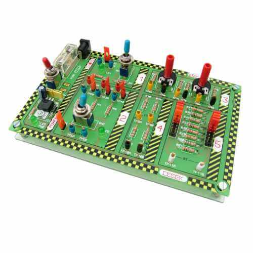 Resistor Educational Experimenter Board