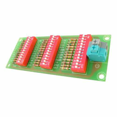 Cebek EDU-005 (CEDU005) - Resistance Decade Box Test Board
