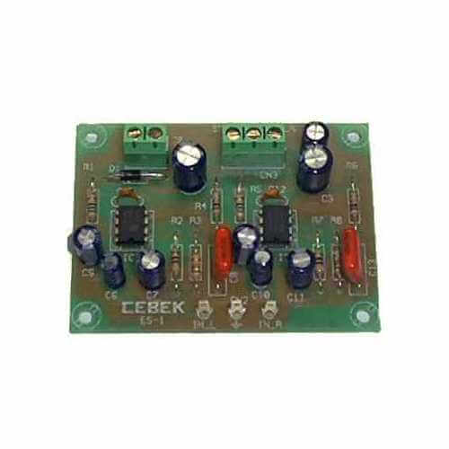 1.8W RMS Stereo Audio Power Amplifier Module (TBA820)