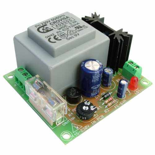 Power Supply Module, 230Vac to 24Vdc, 170mA