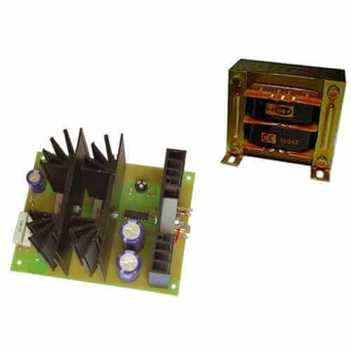 Power Supply Module, 12Vdc, 10A with 230Vac Chassis Transformer