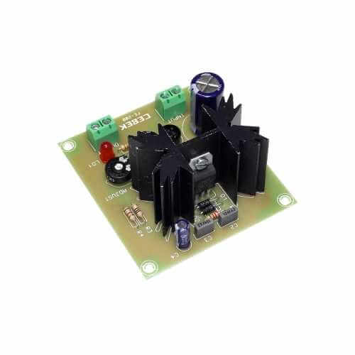 Variable Power Supply Module, 3 - 27Vdc, 500mA