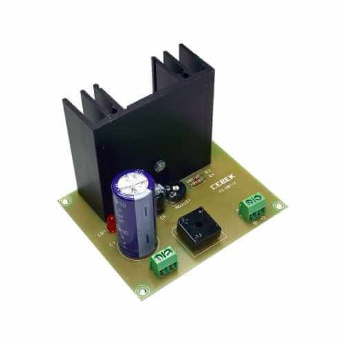Cebek FE-202 (CFE202) - Variable Power Supply Module, 3 - 27Vdc, 2A