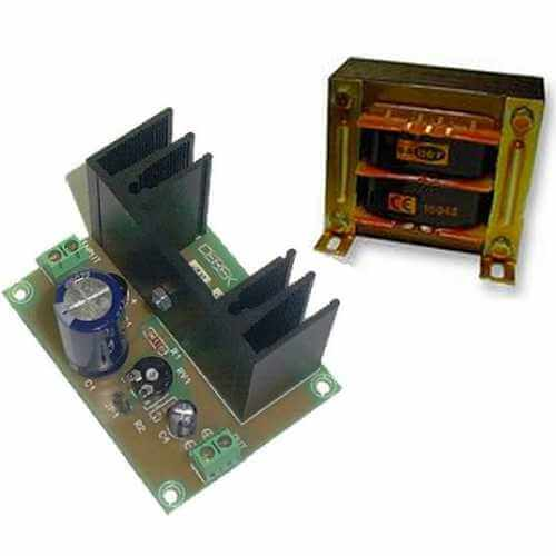 Power Supply Module, Variable 3-15Vdc, 1A with 230Vac Transformer