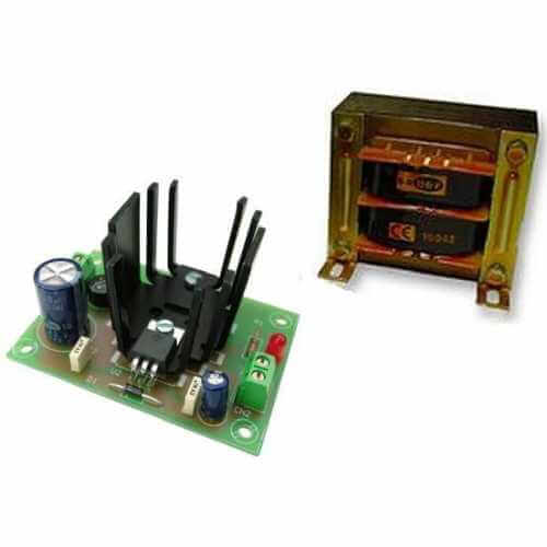 Power Supply Module, 5Vdc, 1A with 230Vac Chassis Transformer