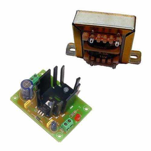 Cebek FE-72 (CFE072) - Power Supply Module, 9Vdc, 1A with 230Vac Chassis Transformer