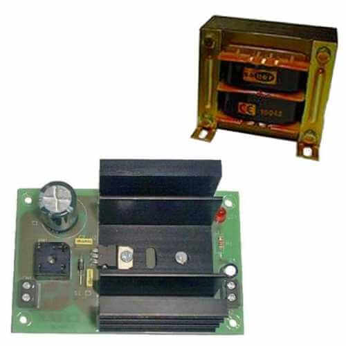 Power Supply Module, 15Vdc, 2A with 230Vac Chassis Transformer