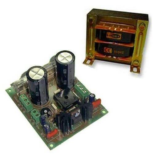 Cebek FS-7 (CFS007) - +/- 32V, 3A Dual Polarity Power Supply with 230Vac Chassis Transformer