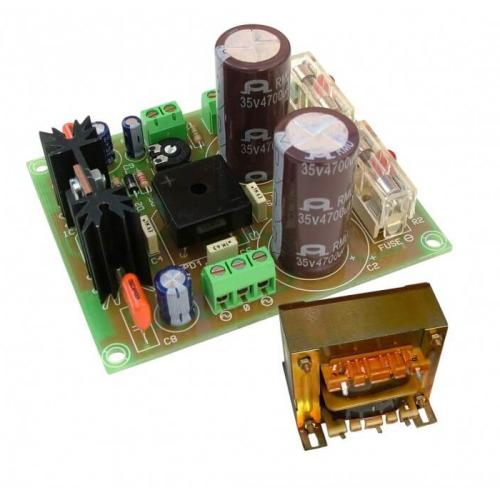 Cebek FS-80 (CFS080) - +/- 42V, 4A Dual Polarity Power Supply with 230Vac Chassis Transformer