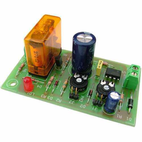 12Vdc Cyclic Timer Relay Module, 1 Sec to 1 Min