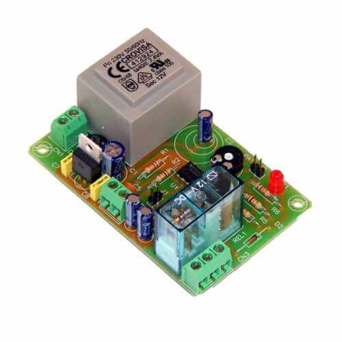 230Vac Delay Timer Relay Module, 2 to 45 Minute